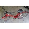 二手 26吋 淑女車 腳踏車 自行車 單車 代步工具 亮麗紅色