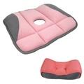 《超值三組入》低反發紓壓美腰墊枕+日式改良版美臀坐墊