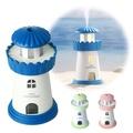 LED燈塔造型小夜燈 USB加濕器(持續噴霧/間歇噴霧)