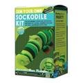 Sock Crocodile Kit, Green , Made in the USA