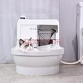 美国CATGENIE 猫洁易全自动猫厕所半封闭智能猫砂盆清理猫砂机基础款