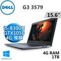 "DELL G3-3579-R1548LTW 15.6""(i5-8300H/4G/1TB/GTX1050 4G/WIN10/FHD)"