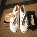 Converse jack purcell 1990s made in usa (Dead stock) white