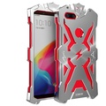 For OPPO R11S Phone Cases Zimon Brand Thor Series Aviation Aluminum Metal Ironman Cover Case For OPPO R11s - intl