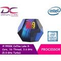 Intel Core i9 9900K Coffee Lake 8-Core, 16-Thread, 3.6 GHz (5.0 GHz Turbo)