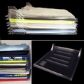 10PCS Clothes Organizer System Closet Drawer Office Desk File Cabinet Laundry Storage Holder Rack - intl