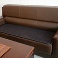 定制沙發墊辦公室坐墊四季通用亞麻椅墊飄窗墊真皮實木沙發套防滑