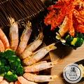 天使心紅蝦(30~40隻/2kg)份+熟凍帝王蟹(800g)份_爆紅蝦蟹組 免運組【水產優】