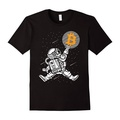 Hot Sale Bitcoin To The Moon O-Neck T Shirt