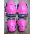 BTWIN 兒童運動護具 護膝護肘 自行車 護具套 粉色