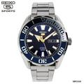 SEIKO SPORTS 5 Automatic นาฬิกาข้อมือผู้ชาย สายสแตนเลส รุ่น SRPC51K1 - (เงิน/หน้าน้ำเงิน)