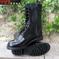 《乙補庫》~軍威牌憲兵全真皮長筒皮鞋、憲兵甲鞋開側邊拉鍊/大頭鞋