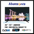 【HARSON`S】● 【40INCH】【55INCH】● ANDROID SMART TV ● LED ● DIGITAL READY ●