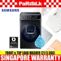 Samsung WR24M9940KV Front and Top Washing Combo (21kg/3.5kg) - Singapore Warranty