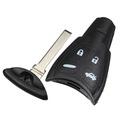 4 Tasti Smart Cover Scocca Guscio Chiave Telecomando Per Saab SAAB 9.3 9.5 93 95