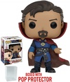 FunKo Funko Pop! Marvel: Dr. Strange - Doctor Strange #169 Vinyl Figure Bobblehead (Bundled with Pop