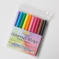 Americolor美國原裝進口食用色素筆10色數量10支