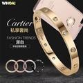 【WHOA!】卡地亞風格Love系列螺絲釘iPhone 6(S) PLUS捷克水鑽全包手機軟硬殼(5.5吋)