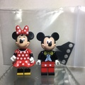 Lego Mickey mouse & Minnie Mouse from 71040