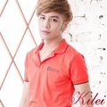 【Kilei】滾邊蘋果圖樣棉質POLO衫XA1451(休閒橘)賠售特價