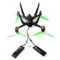 Tripod 3-blade EC2 Plug Parallel Cable Battery Accessories for Hubsan H501S RC Drone Spare Parts
