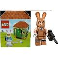 合售 樂高LEGO 5005249復活節兔子+蝙蝠俠人偶包 兔裝女 全新未拆