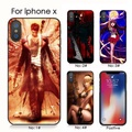 devil may cry anime iphone 7 X XS XR XS Max phone cover กรณีโทรศัพท์