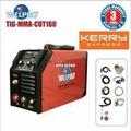 Welpro เครื่องเชื่อม ตู้เชื่อม 3ระบบ พร้อมอุปกรณ์ WELTIG-MMA-CUT 160 (สีแดง)