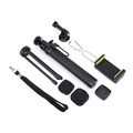 Bluetooth Remote Extension Rod Gimbal Monopod Tripod Mount with Adapter for Gopro/Xiao yi/SJcam