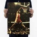 懷舊復古經典牛皮紙海報壁貼咖啡館裝飾畫仿舊掛畫●籃球NBA美國職籃系列-James  Harden詹姆士·哈登