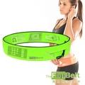 FlipBelt 美國飛力跑運動腰帶(螢光綠) FB-Green 運動 路跑 三鐵