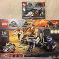 [一天一樂高]75933 買大送小買75933送(30382)LEGO 霸王龍傳輸 Jurassic Park系列