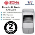 ★ Sona SAC6303 Remote Air Cooler ★ (2 Years Singapore Warranty on Motor)