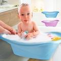 嬰兒浴盆 兒童泡澡桶防滑 寶寶洗澡盆(買就送強力吸水浴巾)