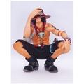 【手辦】海賊 航海王 KOA 藝術王者 組立式艾斯 蹲姿景品
