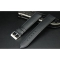168錶帶配件~18mm收16mm高質感 防水進口皮料平面啞光替代ck armani seiko原廠錶帶真皮製錶帶