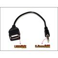 【台灣賣家】XT062 3.5MM AUX轉USB母 轉接線 USB轉3.5mm音源線 mp3 mp4轉接線 車用音頻線