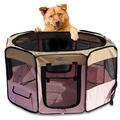 【寵物貴族】歐美熱銷正品八角形超寬敞摺疊寵物圍籠/寵物窩/狗籠_大(圍籠)