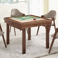 Bernice-尼斯4.4尺多功能拉合原石餐桌/麻將桌-90~131x90x74cm