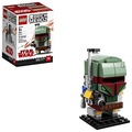 LEGO 樂高 6225354 Brickheadz Boba Fett 41629 Building Kit, Multicolor