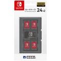 [ACC][Switch]卡片匣24+2 for任天堂Switch(任天堂開關)黑色HORI(NSW-025)(20170303) Media World