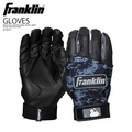 FRANKLIN(富蘭克林)ADULT DIGITEK SERIES BATTING GLOVES(adarutodejitekkushirizubattingugurobu)棒球手套一對雙手BLACK/BLACK(黑色)21061F ENDLESS TRIP ENDLESSTRIP ENDLESS TRIP