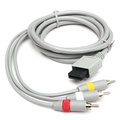 1.8m Audio Video AV TV Composite RCA Cable for Nintendo Wii Console