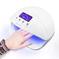【現貨】UV LED Nail Lamp日本波蘭專業指甲油燈 美甲光療機 指甲烘乾機 感應定時 48w