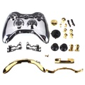Full Shell Cover Case and Button for Xbox 360 Wireless Controller