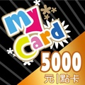 MYCARD5000點91折