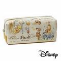 【日本進口】小熊維尼 Winnie the Pooh 帆布 筆袋 鉛筆盒 迪士尼 Disney - 491379