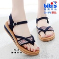 越南涼鞋平仙鞋平跟女涼鞋沙灘休閒涉水防滑舒適涼鞋 七號小鋪