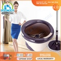 【Boomjoy Official】💥BOOMJOY M9 Pro 2018 New Magic Spin Flat Mop 360 and Bucket Set 💥