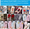 VIVO Y83/Y79/Y71/Y85 Lace cartoon Conch shell phone case cover